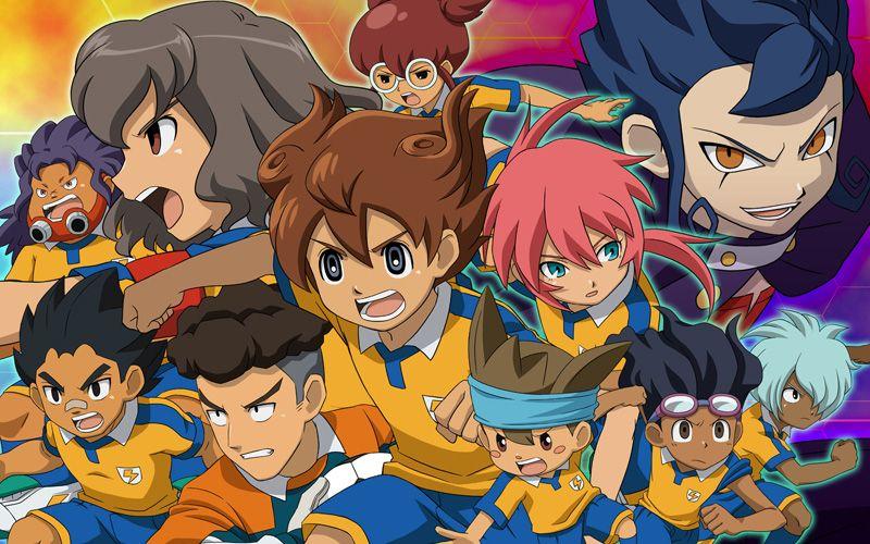 Resultado de imagen de inazuma eleven Go serie anime