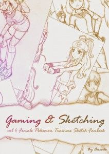 Gaming & Sketching Vol1 Cover