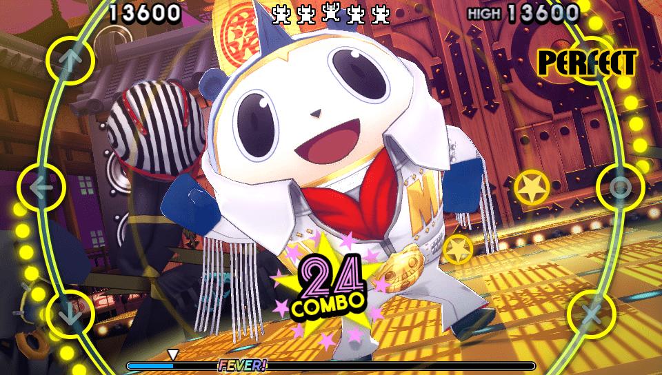 Persona 4 Dancing All Night cap