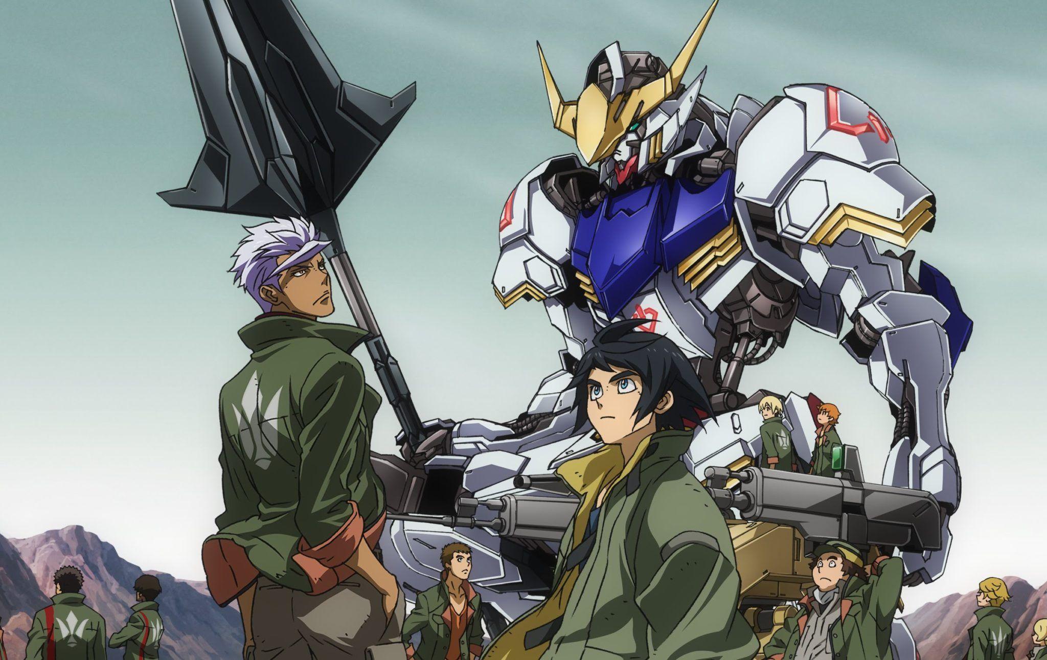 Resultado de imagen para Gundam: Iron-Blooded Orphans