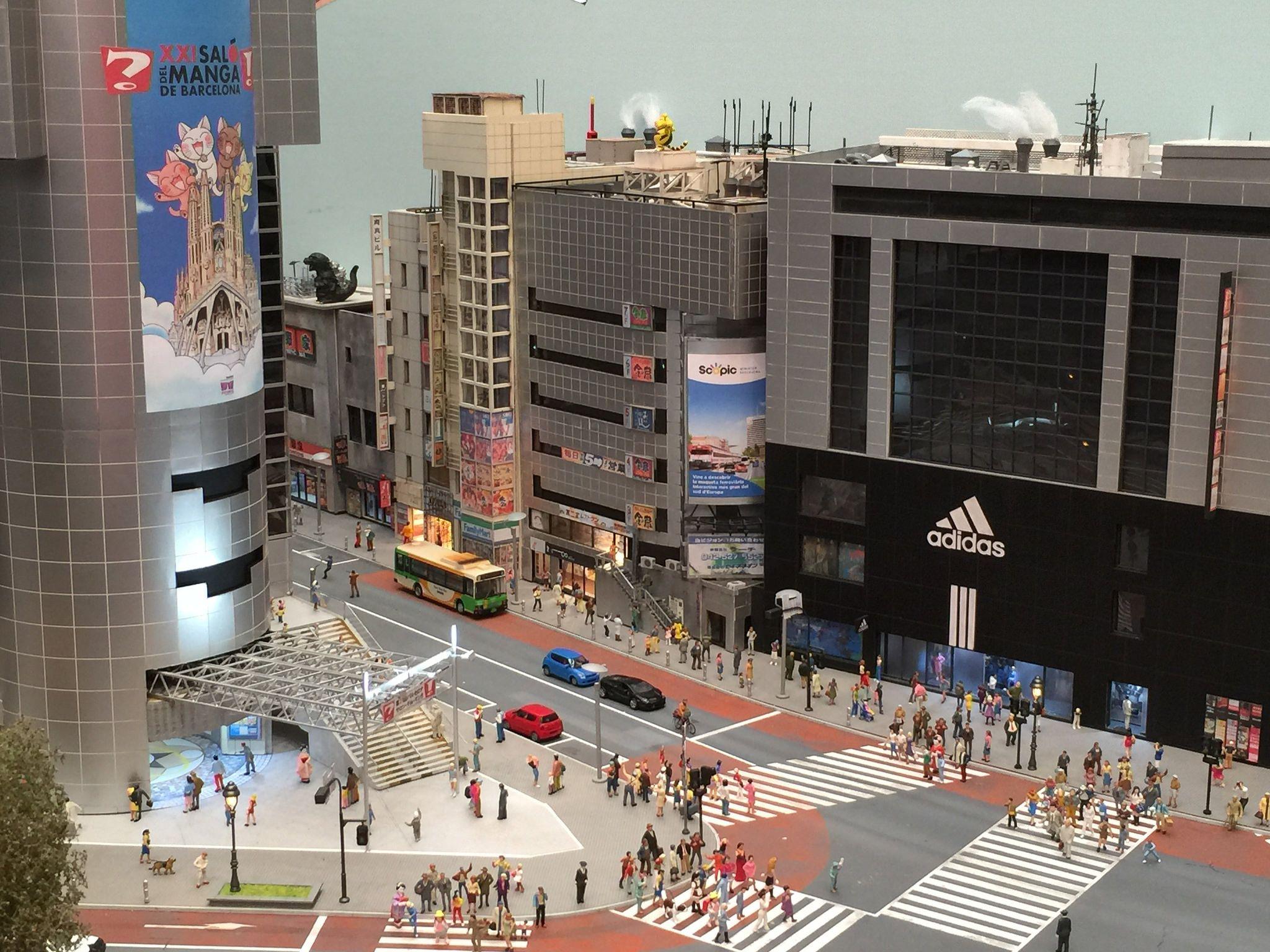 Maqueta de Tokio