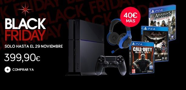 BF Corte Ingles PS4