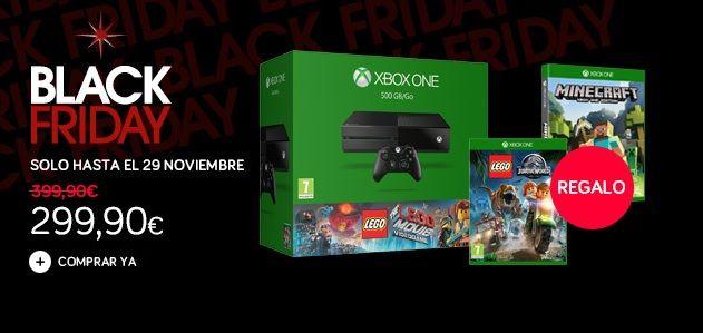 BF Corte Ingles Xbox One