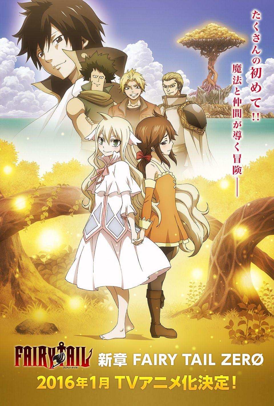Fairy Tail Zero anime