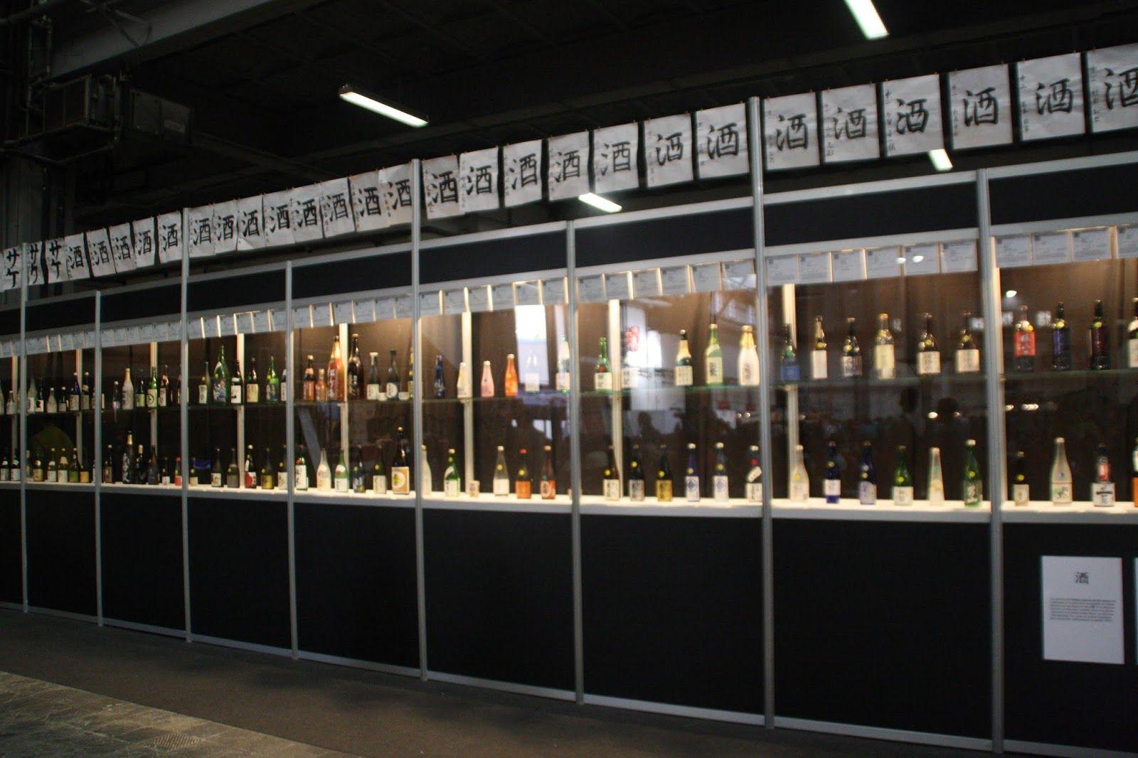 Exposición sobre el sake