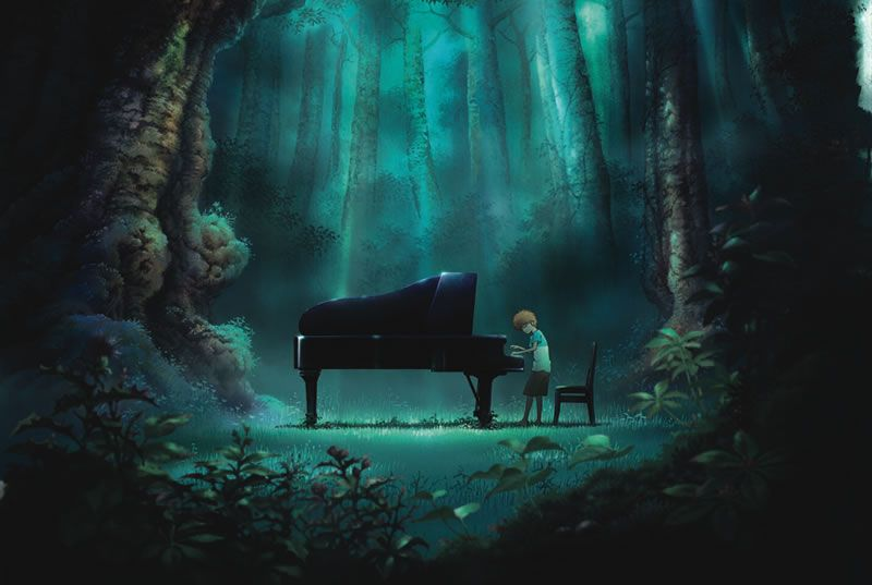 Piano_no_mori anime