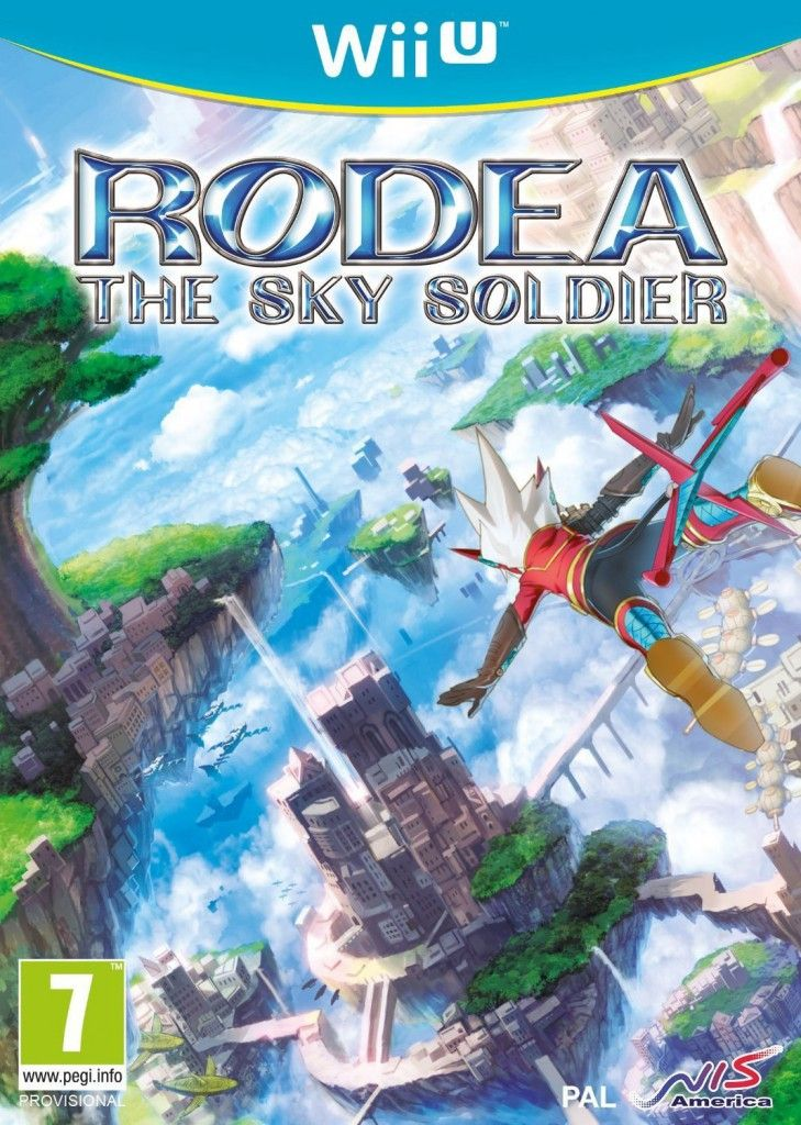 Rodea the Sky Soldier Wii U