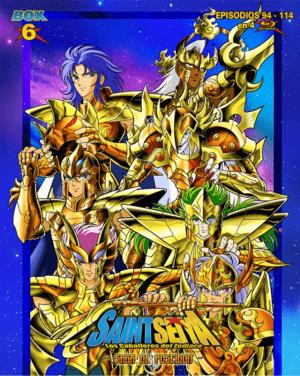 Saint Seiya – Saga del Santuario Box 6 BD