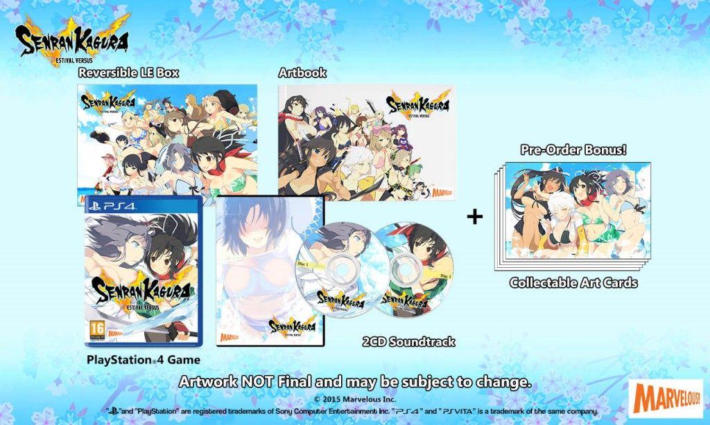 Senran Kagura Estival Versus Millenium Festival PS4