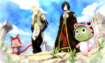 Fairy tail-dragones gemelos