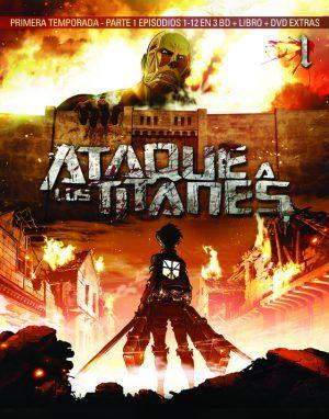 Ataque a los Titanes – 1ª Temporada, 1ª parte BD