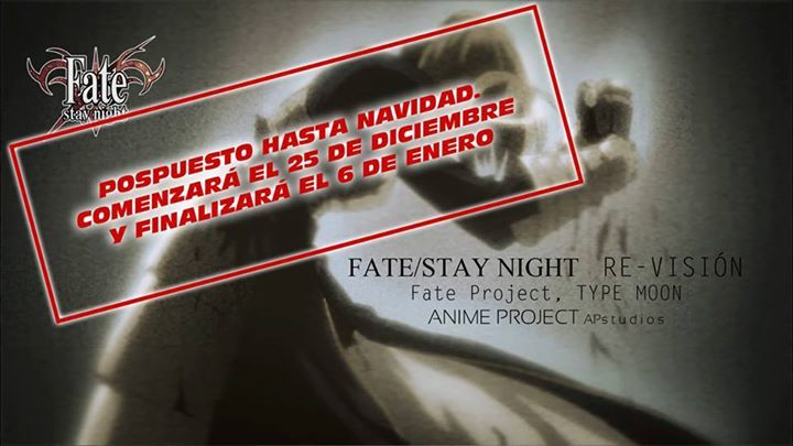 fate stay nigth revision retrasp
