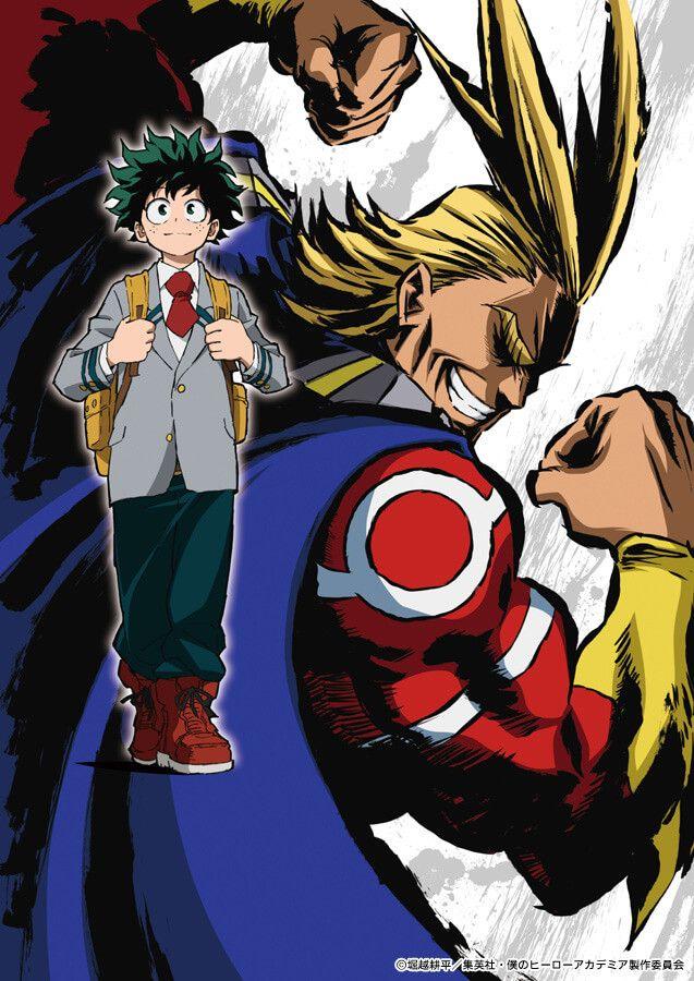 my hero academia key anime