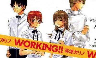 Working manga