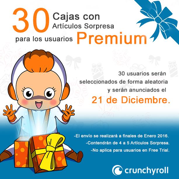 Crunchyroll promocion premium