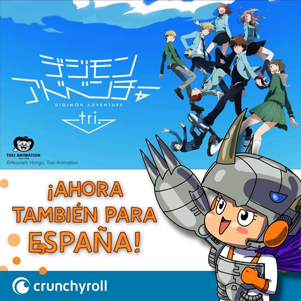 Digimon adventure tri crunchyroll espana