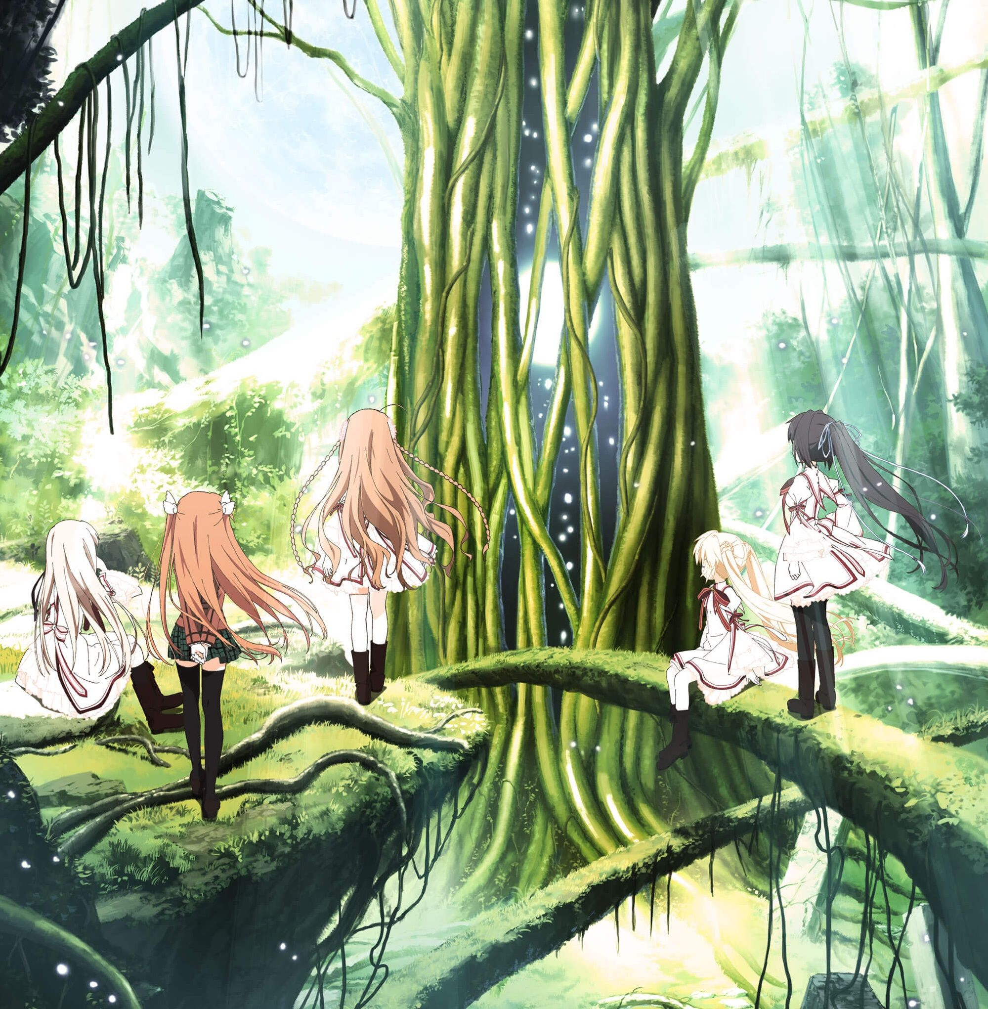 Rewrite key anime short