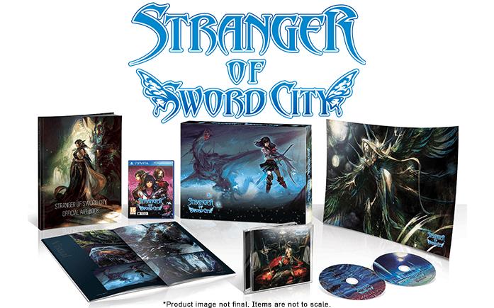 Stranger of Sword City Ed limited