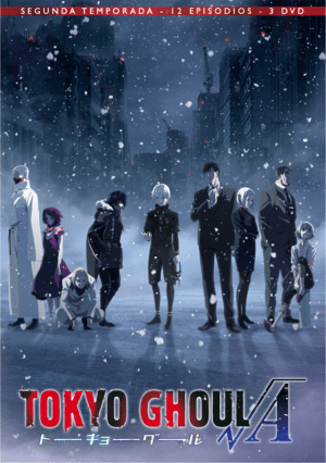 Tokyo Ghoul √A DVD