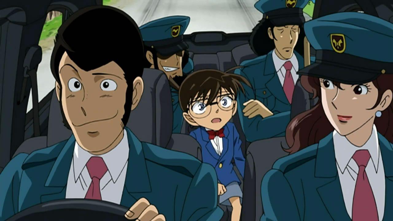 Resultado de imagen para Lupin vs Detective Conan