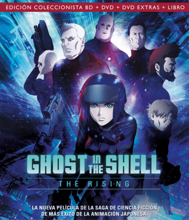 GHOST IN THE SHELL LA NUEVA PELÍCULA (THE RISING)
