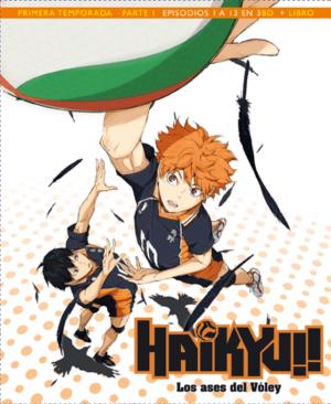 Haikyu!! Los Ases del Vóley Temporada 1 Edición Blu-ray Coleccionista