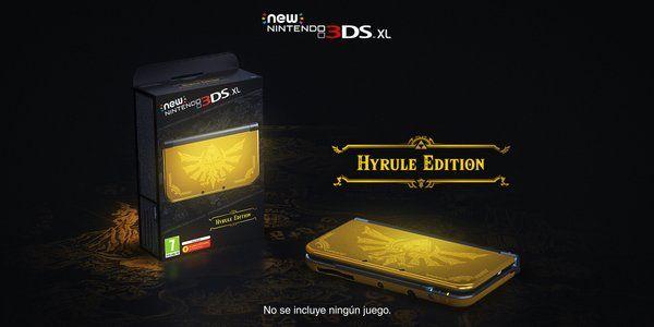 New Nintendo 3DS XL Edicion Hyrule