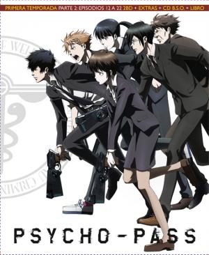 Psycho-Pass Temporada 1 Parte 2 Edición Blu-ray coleccionista