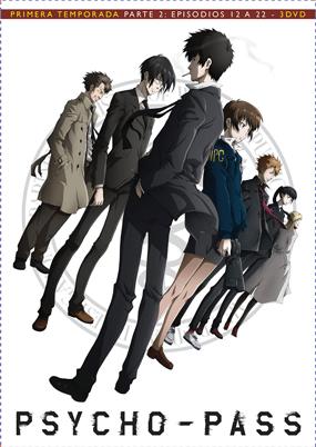 Psycho-Pass Temporada 1 Parte 2 DVD