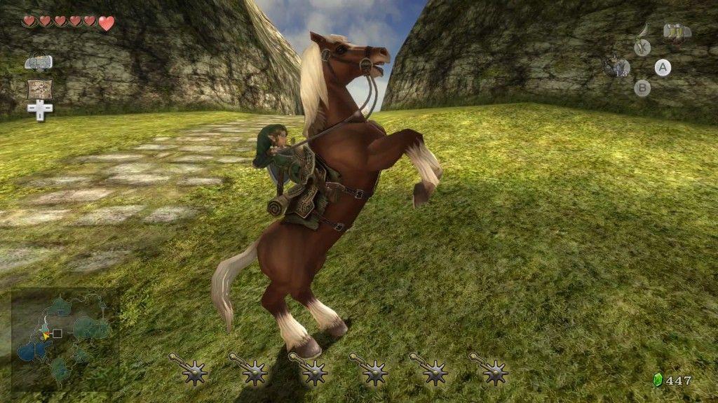 The Legend of Zelda Twilight Princess HD cap