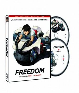 Freedom DVD serie completa