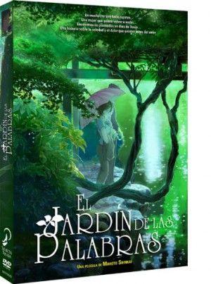 El Jardín de las Palabras DVD