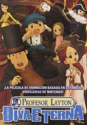 El profesor Layton y la Diva Eterna DVD