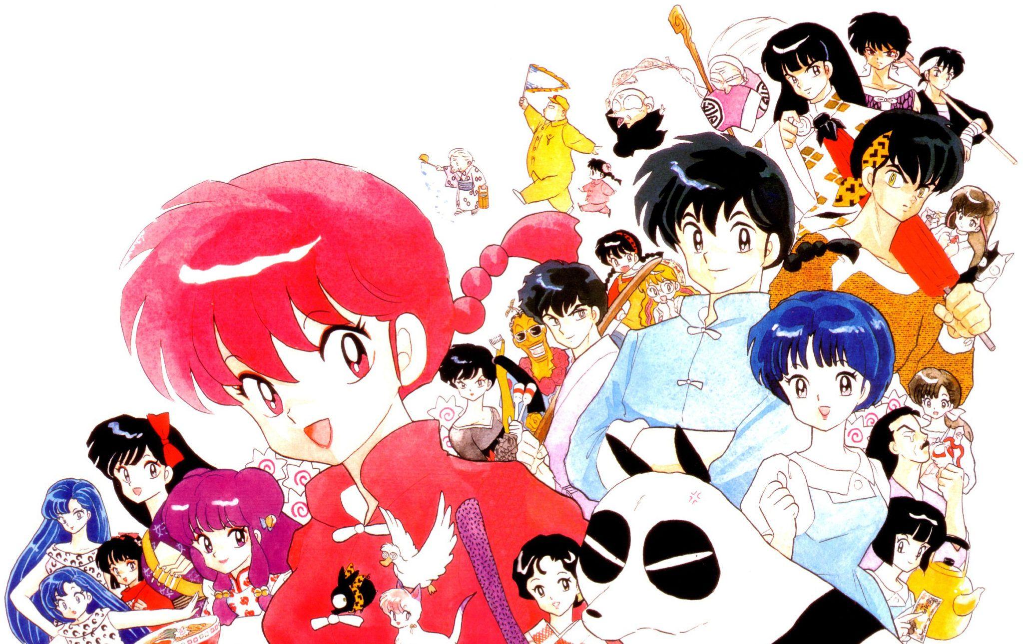 Ranma 1 2 Anime Characters : Planeta reeditará el dulce hogar de chi y ranma del