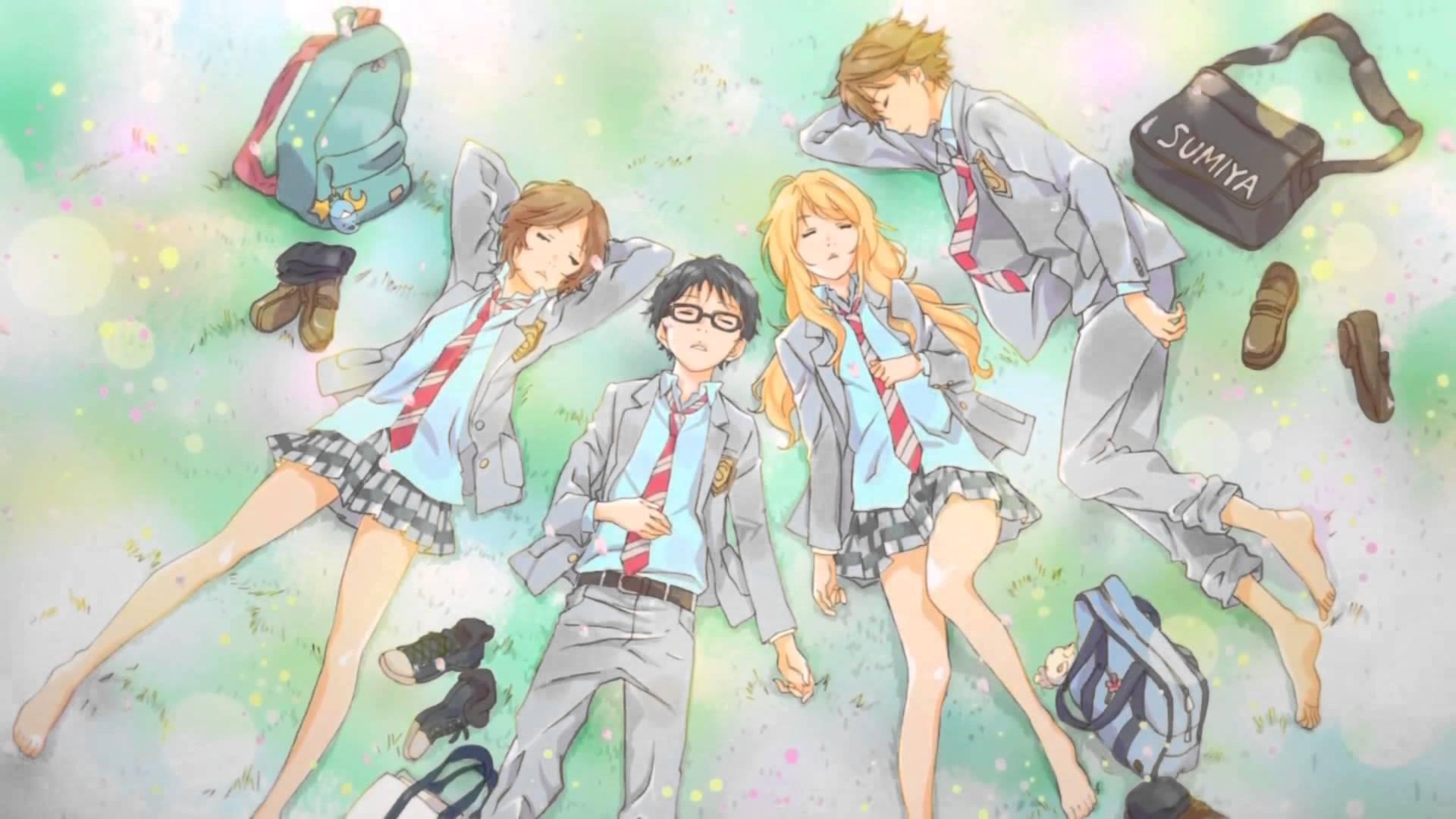 shigatsu wa kimi manga