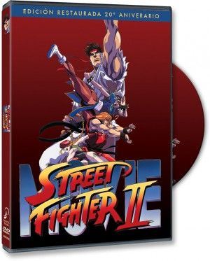 Street Fighter II DVD