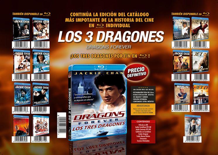 Los 3 dragones