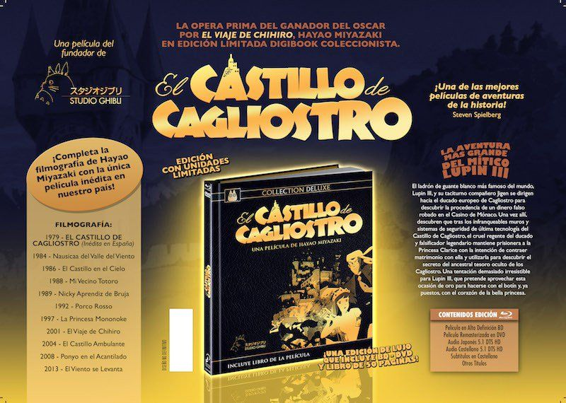 El Castillo de Cagliostro Ed Deluxe