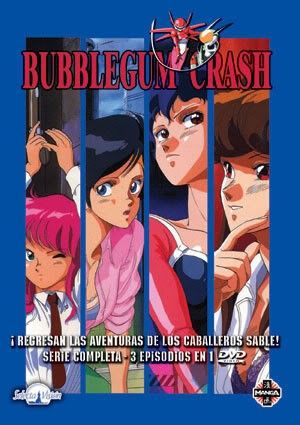 Bubblegum Crash – DVD – Serie completa