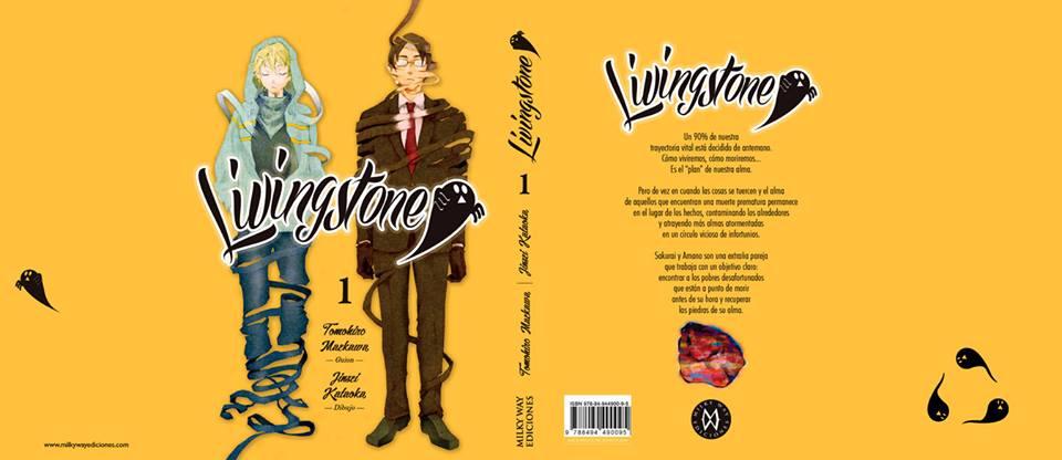 Livingstone 1 sobrecubierta