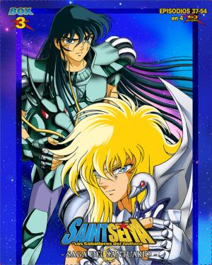 Saint Seiya – Saga del Santuario Box 3 BD