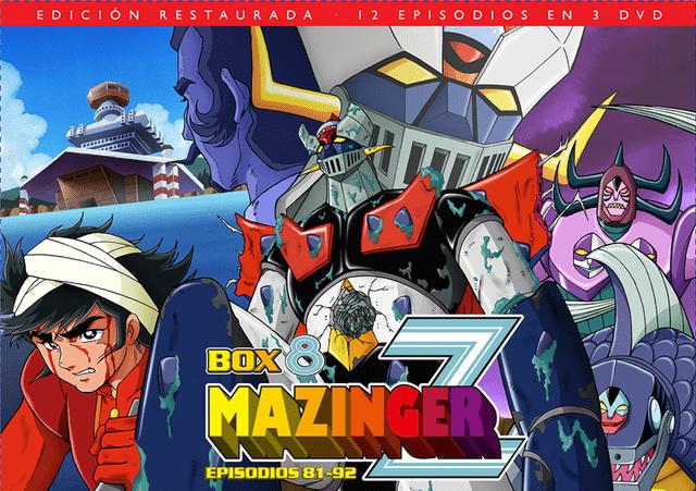 Mazinger Z Box 8