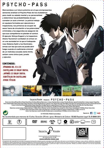 Psycho Pass Temp 1 Part 2 DVD_3