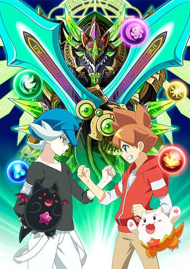 Puzzle and Dragons X anime