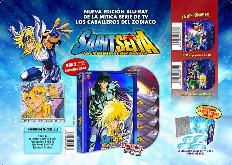 SaintSeiya Box3 Reprint