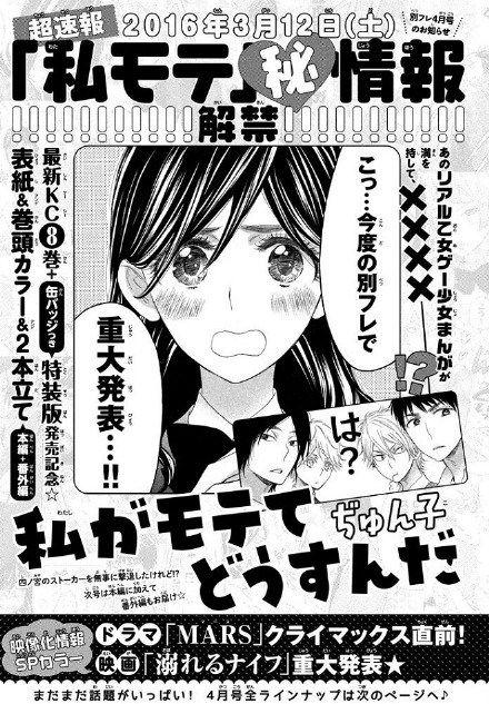 Watashi ga Motete Dousunda scan
