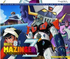 Mazinger Z – Box 8 BD