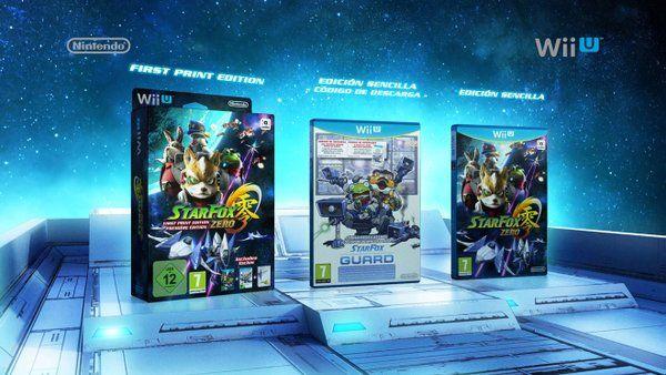Star Fox Zero ediciones