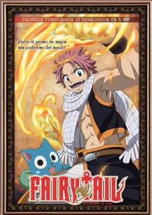 Fairy Tail – Temporada 1 (12 eps 3 DVD)