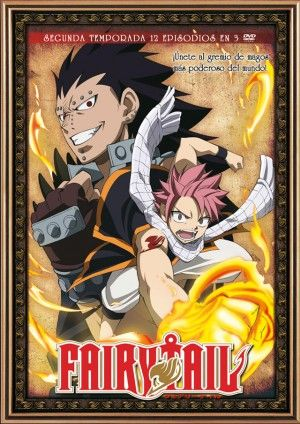 Fairy Tail – Temporada 2 (12 eps. en 3 DVD)